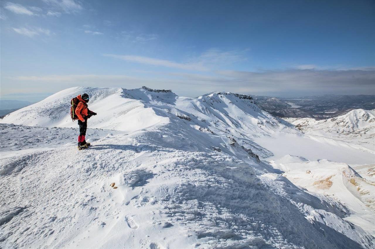 冬の安達太良山 日帰り雪山登山