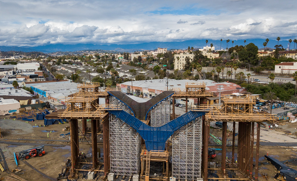 6th Street Bridge, Construction progress 2018 | MV_2941