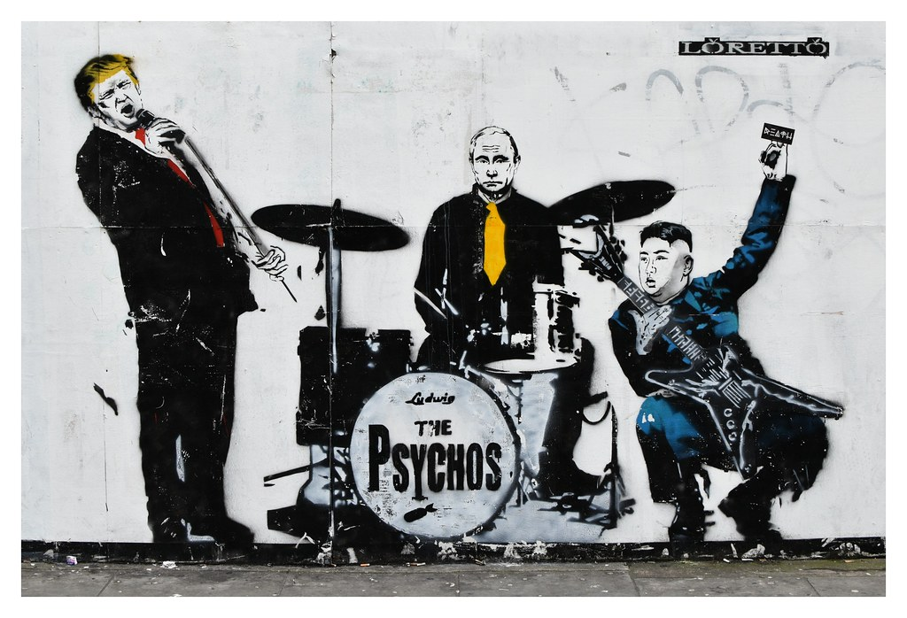 the psychos by loretto street art london a very photogr flickr. Black Bedroom Furniture Sets. Home Design Ideas