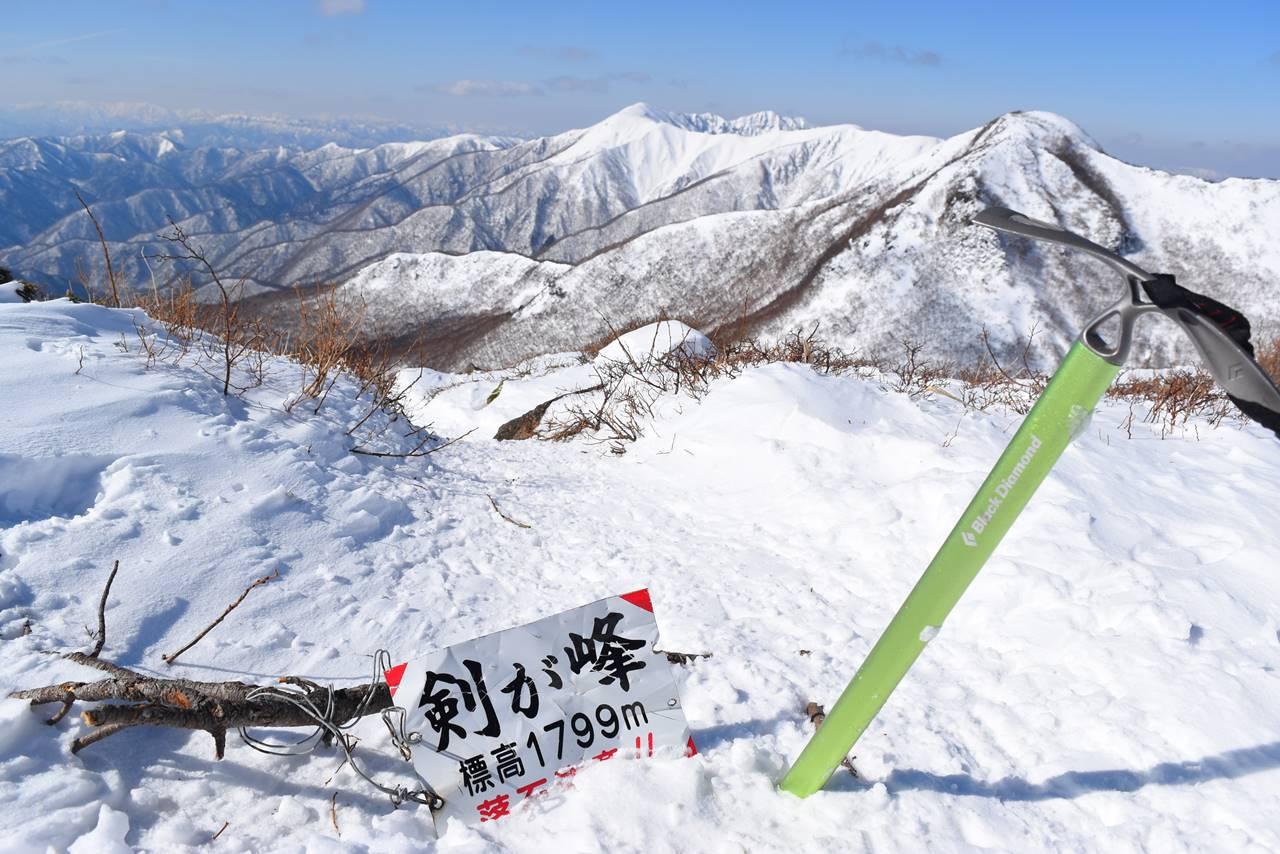 那須岳・剣ヶ峰山頂