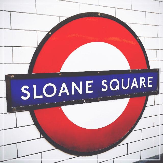 Sloane Square, London | via It's Travel O'Clock