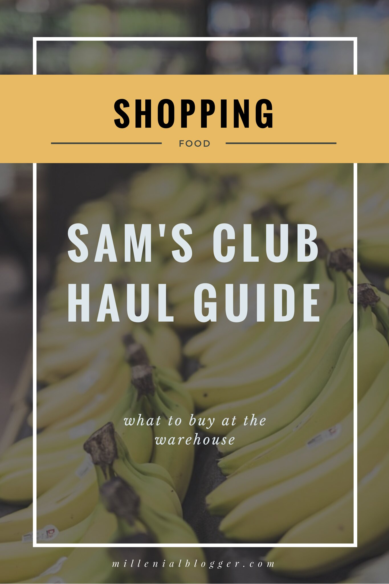 Sam's Club Shopping Guide