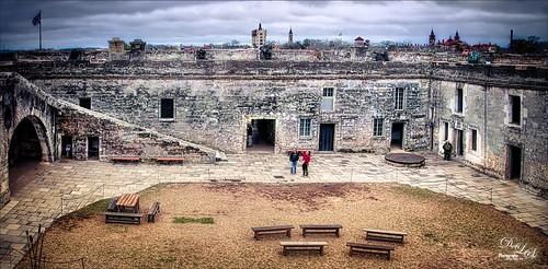Image of Castillo de San Marcos in St. Augustine, Florida
