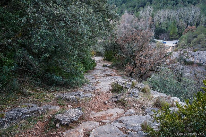 Sendero de Sant Quirze al Pont de Pedret