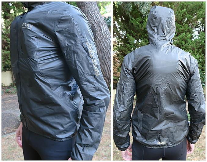 Το jacket φορεμένο πάνω από αγωνιστικό γιλέκο με δύο μεγάλα φλασκιά μπροστά