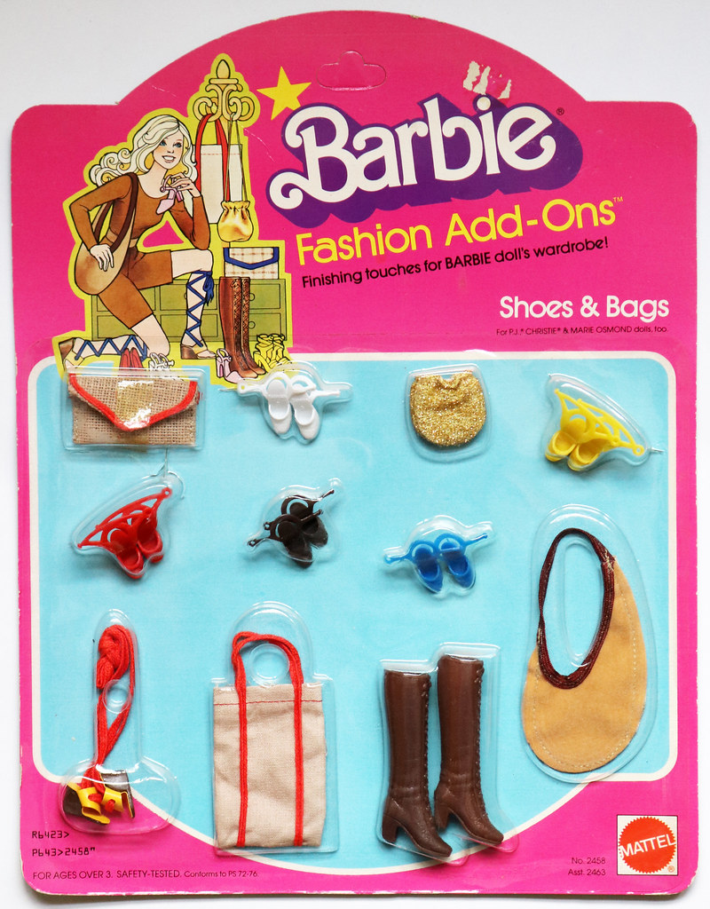 ... Barbie Fashion Add-Ons #2458 (1980) | by Pink Mules & Ponies