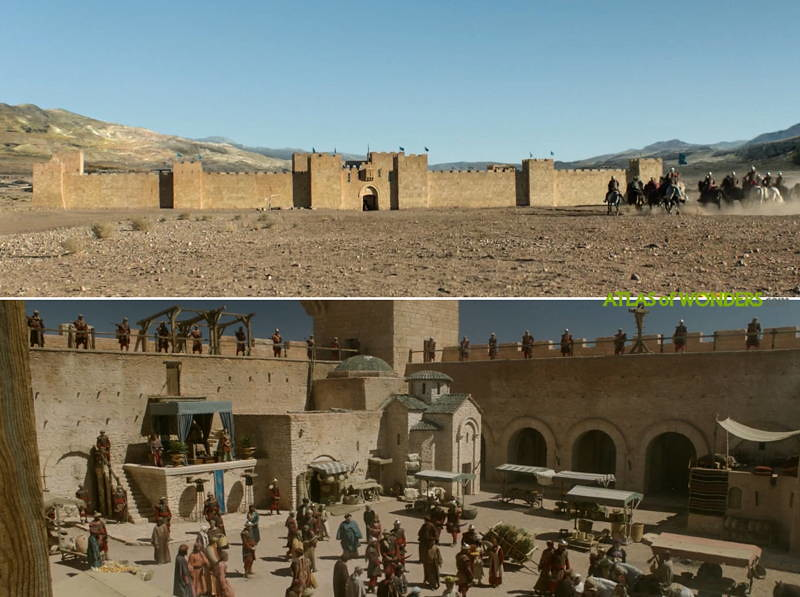 Season 5 desert location
