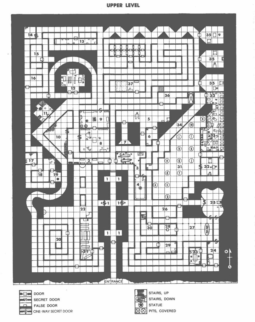 Dragonsfoot • View topic - Dungeon Design/Architecture and the Play ...