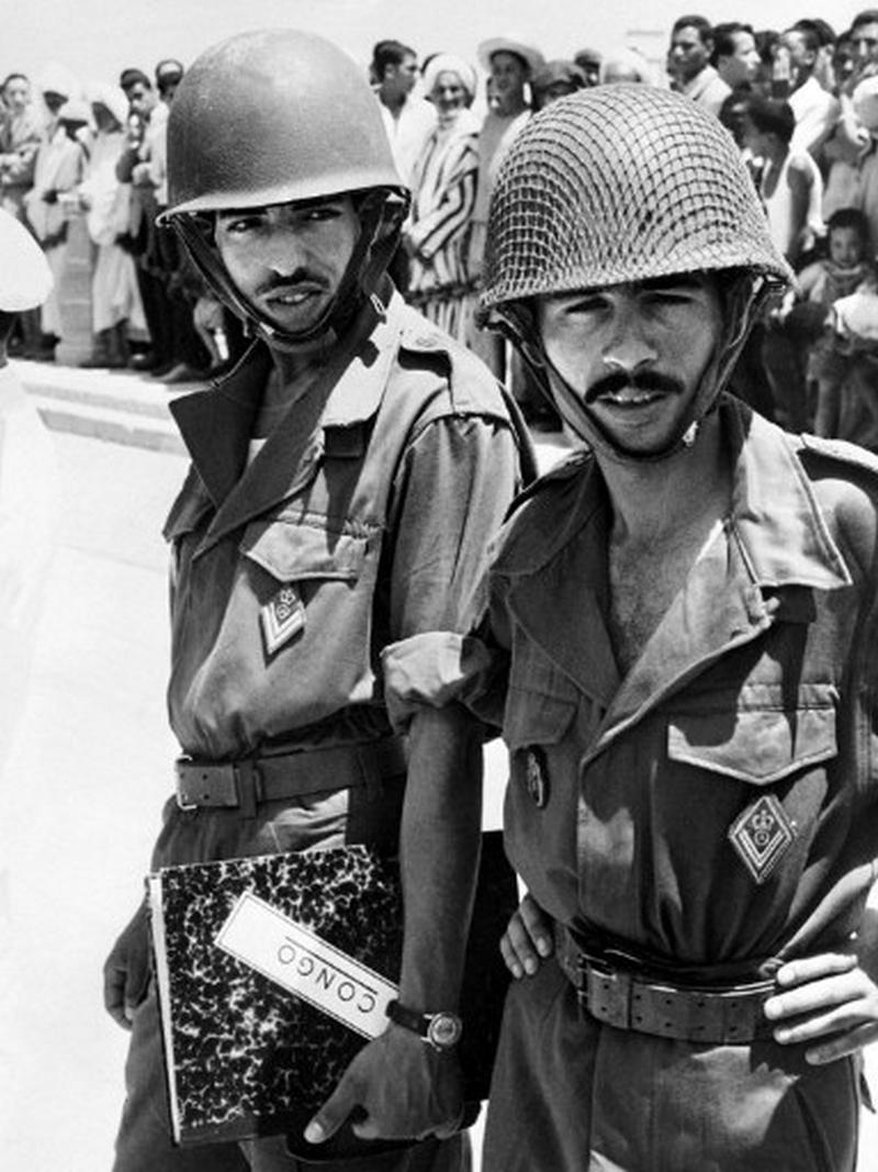 Les Forces Armées Royales au Congo - ONUC - 1960/61 40426336322_9401047c76_o