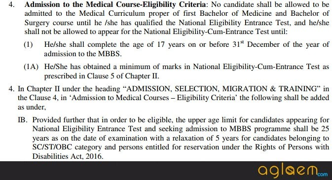 NEET 2018 Eligibility Criteria Confirmed, Age Limit will be Applicable