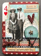 ValentineAlteredPlayingCards2018Six by scrapperjean (Debbie)