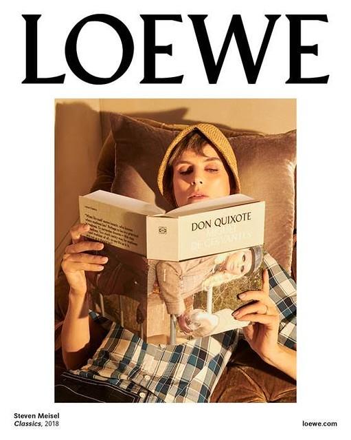 La nueva campaña de Loewe para este otoño 2018