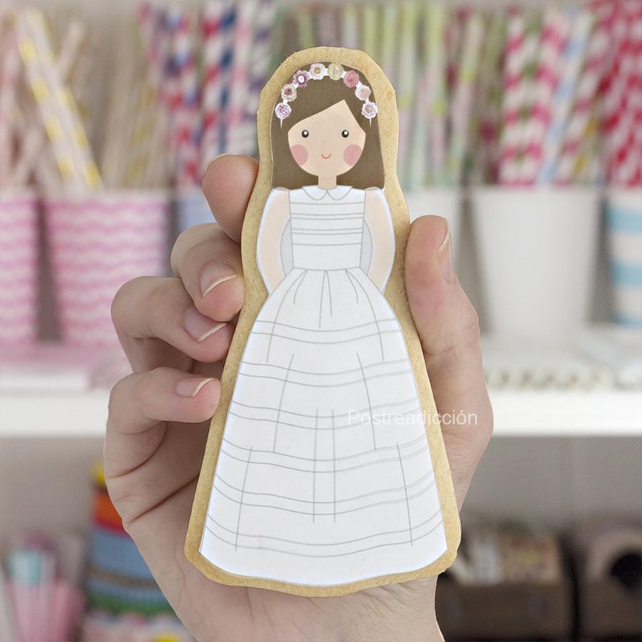 galletas papel azúcar