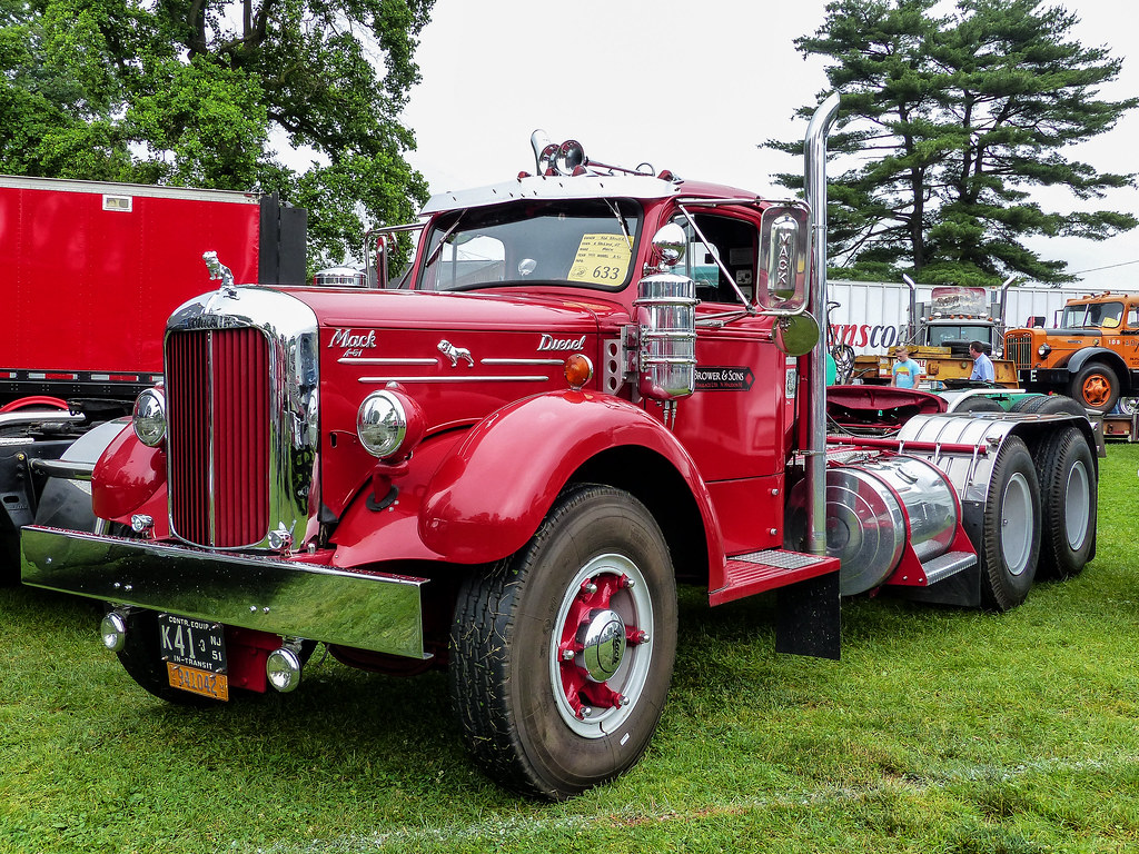 Ken Brower S 1951 Mack A 51 Semi Tractor Taken At The