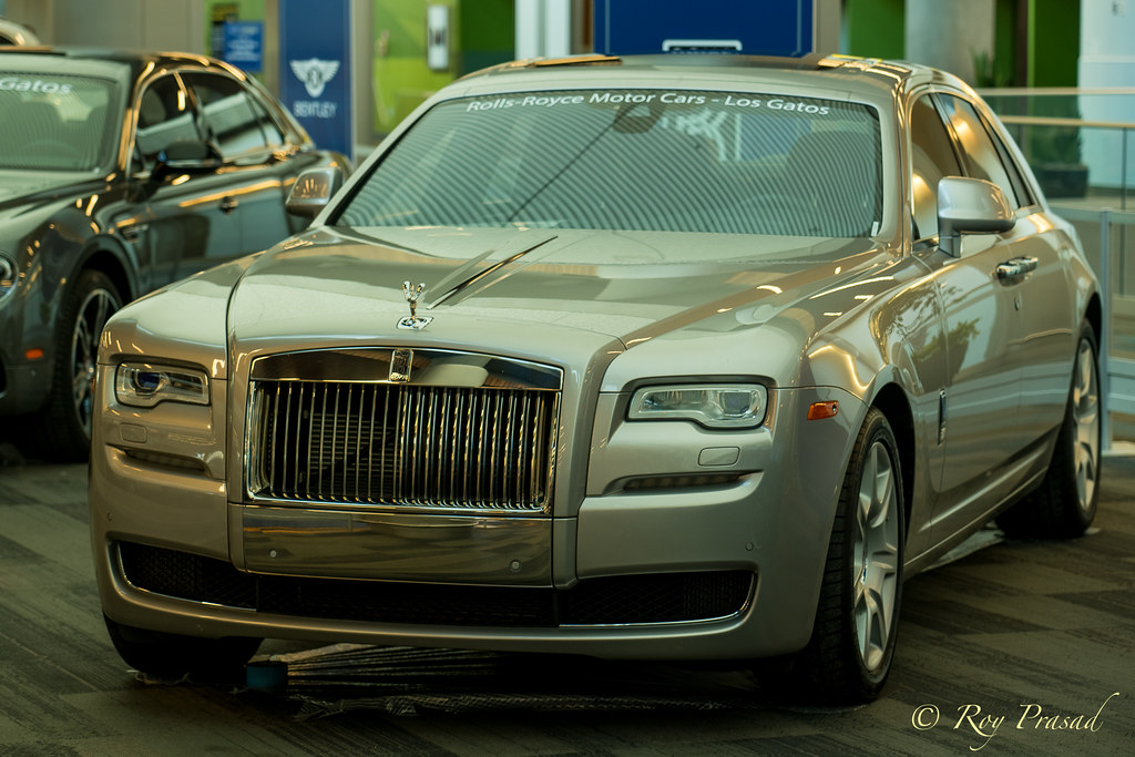 Rolls Royce   San Jose Auto Show, 2018. This was one of the …   Flickr