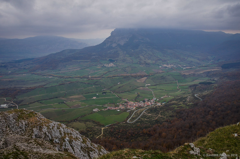 Sierra de San Donato desde San Adrián de Lizarraga