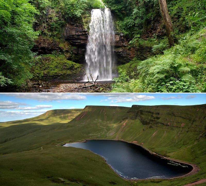 Britannia waterfall