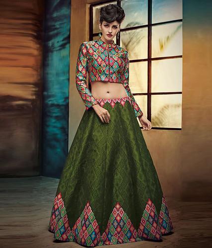 dresses Buy Now Designer Dark Green...