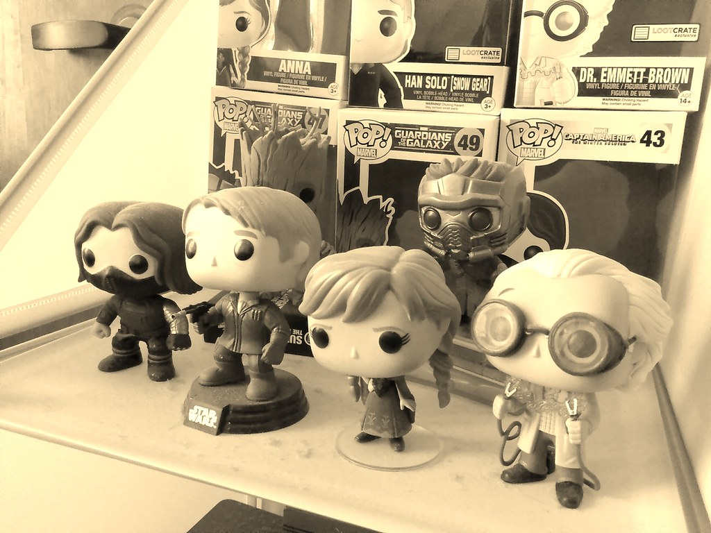 Geek Toys For Newborn : Geeky toys in sepia am ron bailey flickr