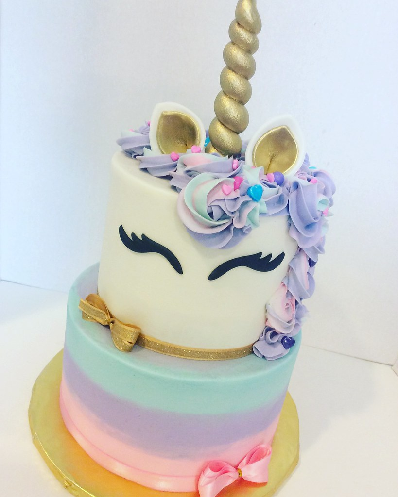 Birthday Cake Two Tiers