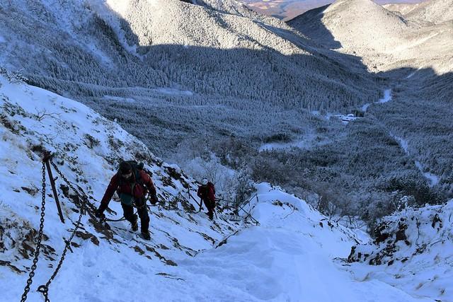 冬の八ヶ岳・地蔵尾根 日帰り雪山登山