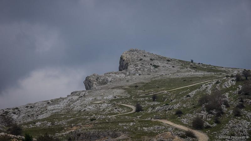 Monte Saratsa en la Sierra de Andía