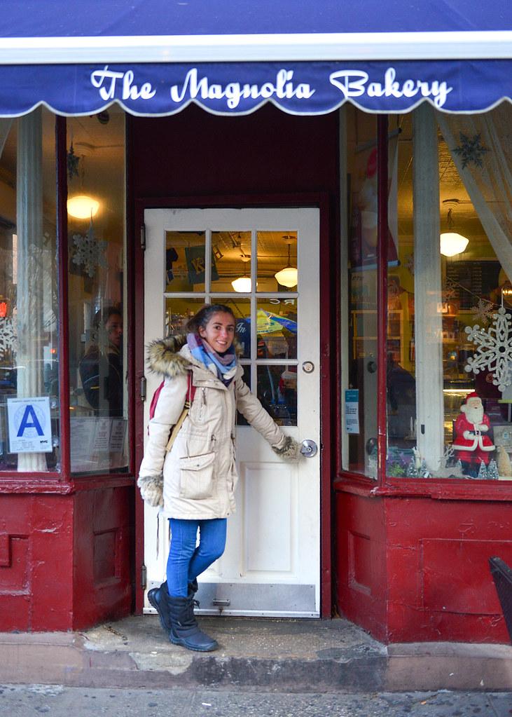 Puerta del Magnolia Cupcakes de Sexo en Nueva York