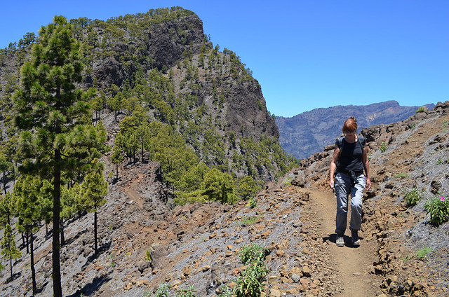 Walking routes, La Palma