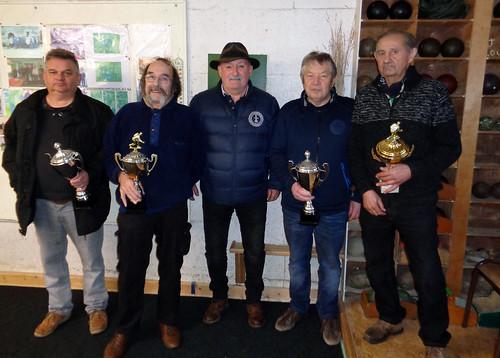 10/02/2018 - Entente Morlaix / St Martin : Concours de boules plombées en doublette formée à Saint Martin des Champs