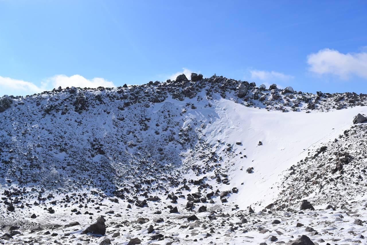 那須岳・茶臼岳の火口