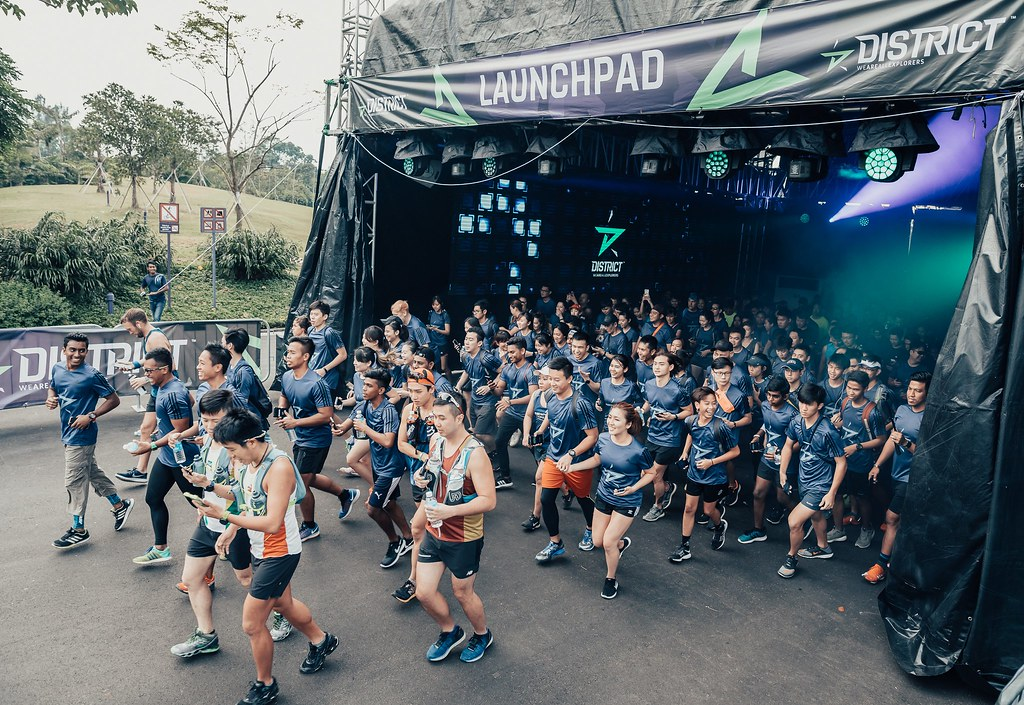 Global Debut of District Race kicks off in Singapore - Alvinology