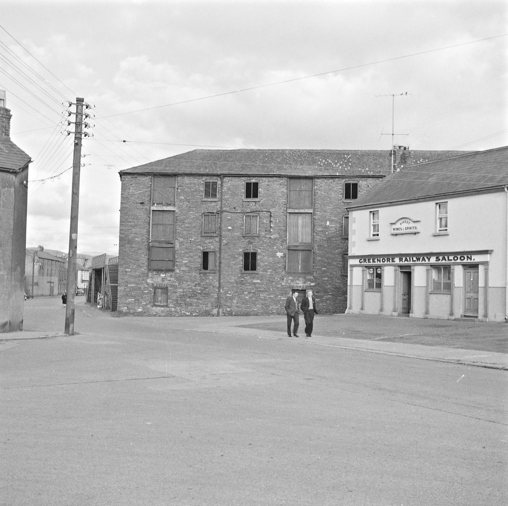 Slow walk to the Greenore Railway Saloon | by National Library of Ireland on The Commons