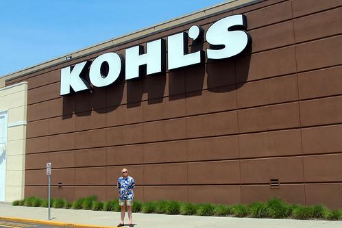 Jag utanför Kohl's.