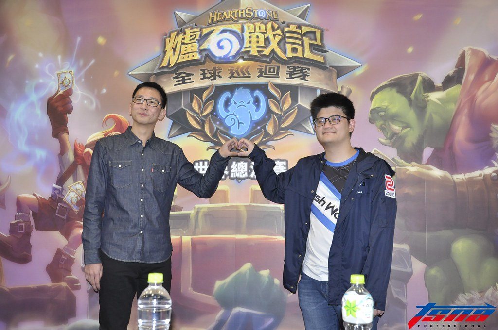 SamuelTsao(左)與tom60229。(張哲郢/攝)