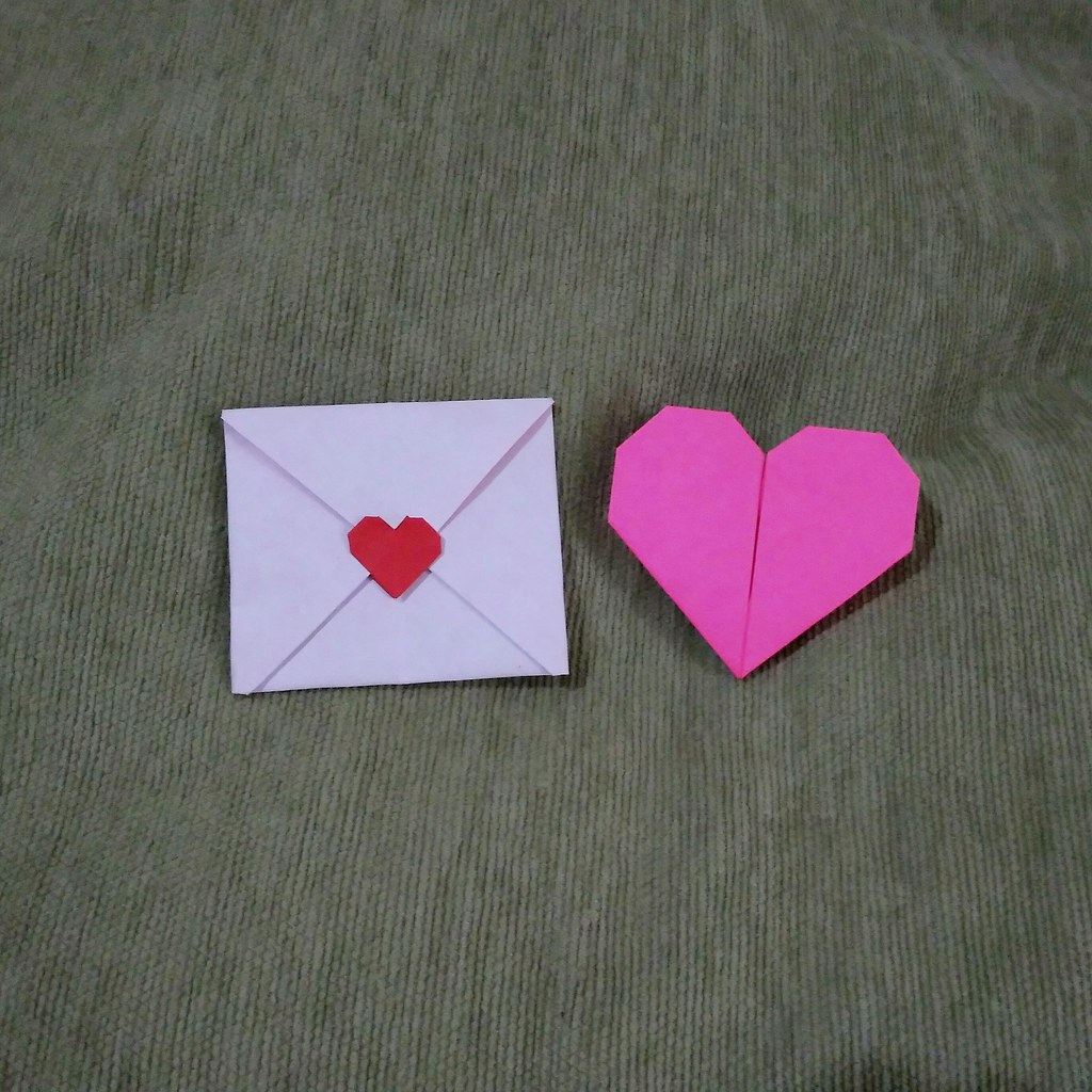 Origami Love Letter LeftHadi Tahir Right Oriol Esteve
