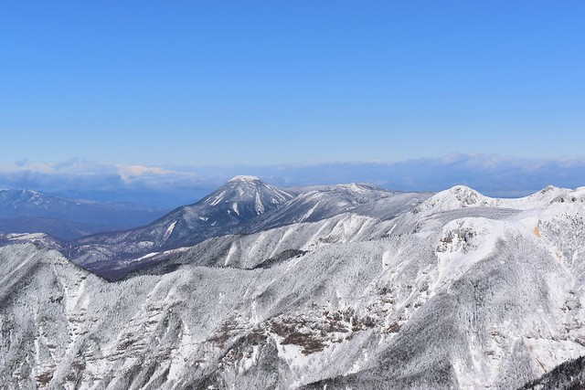 冬の八ヶ岳 蓼科山~北横岳~天狗岳