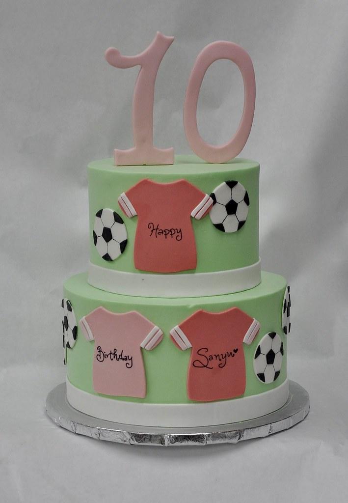 Soccer Birthday Cake Jenny Wenny Flickr