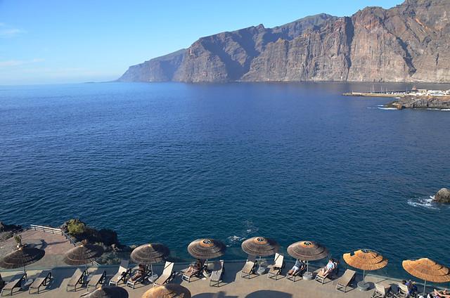 View from Barcelo Santiago, Puerto Santiago, Tenerife