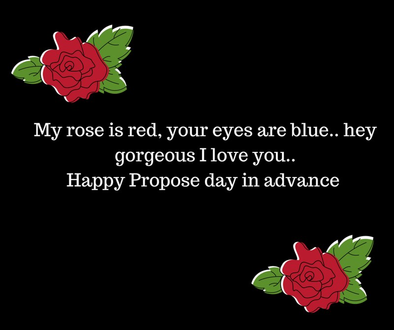 Happy Propose Day Images 2019