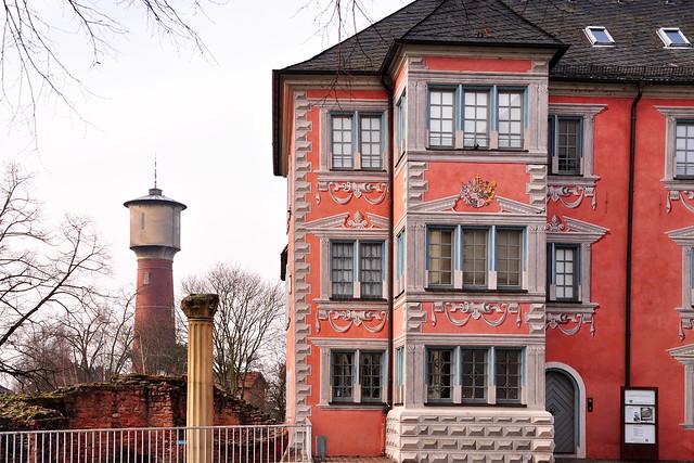 Ladenburg am Neckar, fast ein kleines Rothenburg ... Archäologie, Altertum, Mittelalter, Moderne ... alte Häuser, malerische Gassen ... Foto: Brigitte Stolle, Februar 2018 ... Lobdengau-Museum