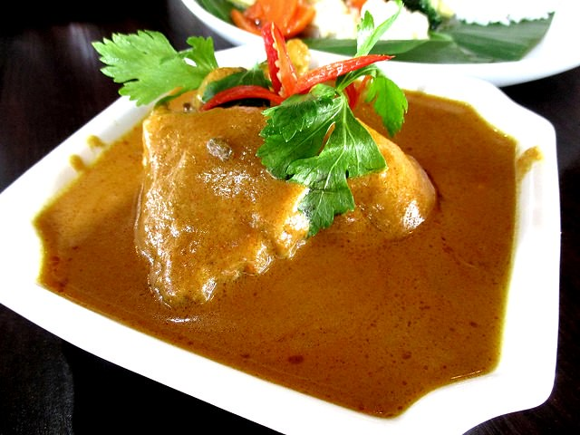 The Cafe Ind kalio ayam