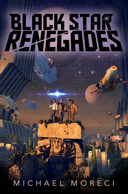 Cover to Black Star Renegades