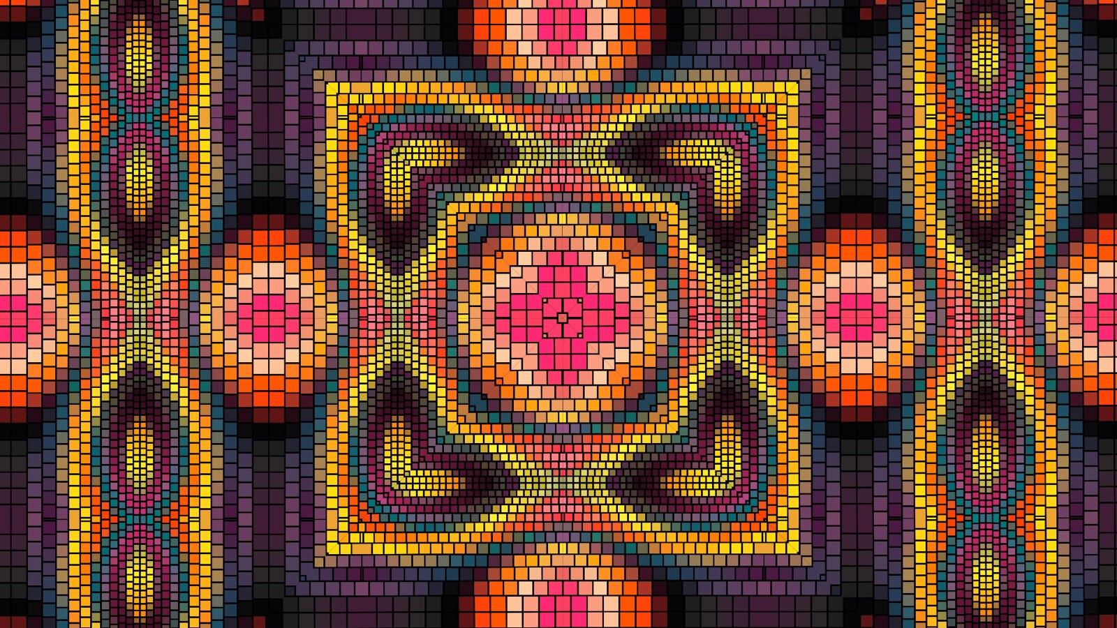 Мозаика 4 сектора