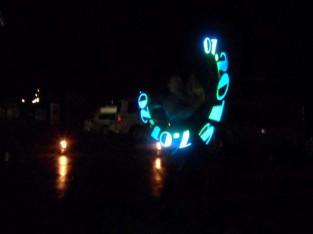 Datum aus LEDs