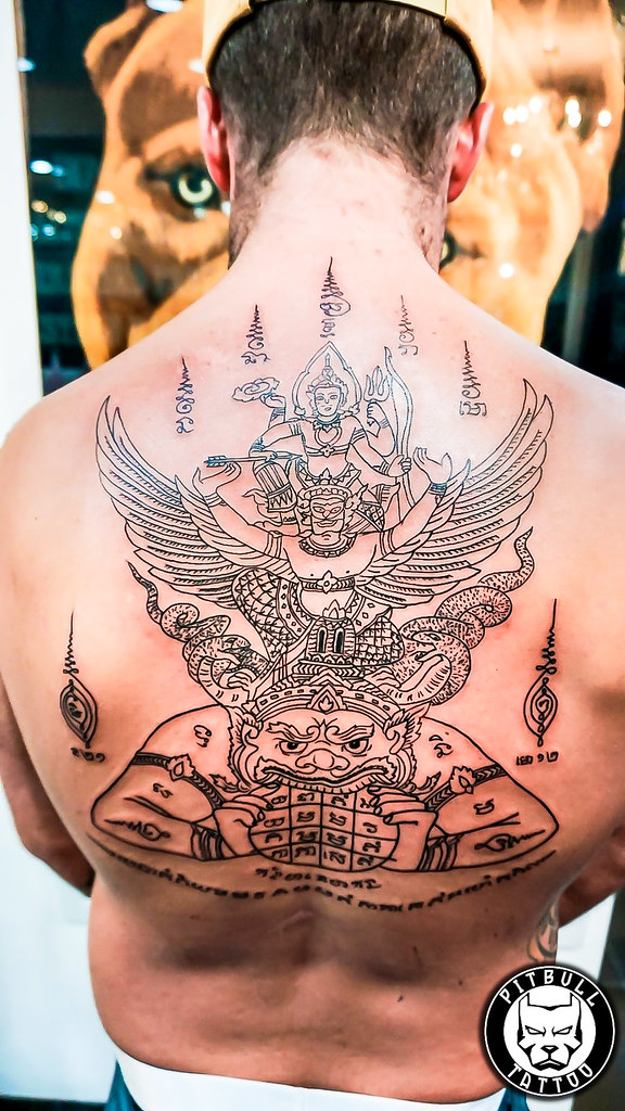 Bamboo / Sak Yant Tattoo | tattoo.pitbullgroupthailand.com | Flickr