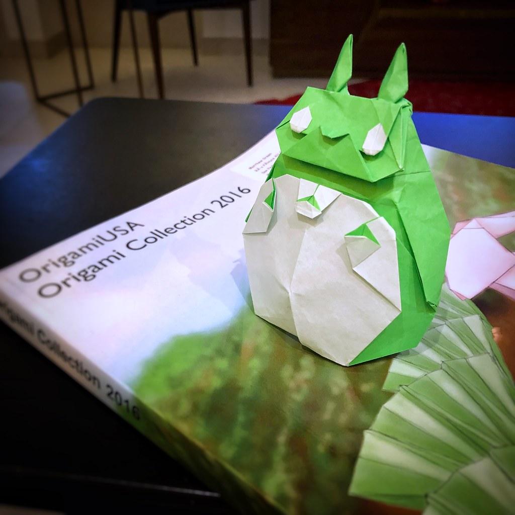 35365 Origami Anime Forest Spirit Designed By Shuki Flickr