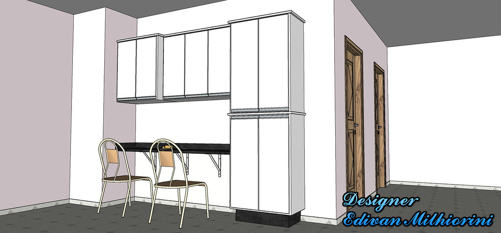 Interior Design Kitchen Sketch Designer Edivan Milhiorini Flickr