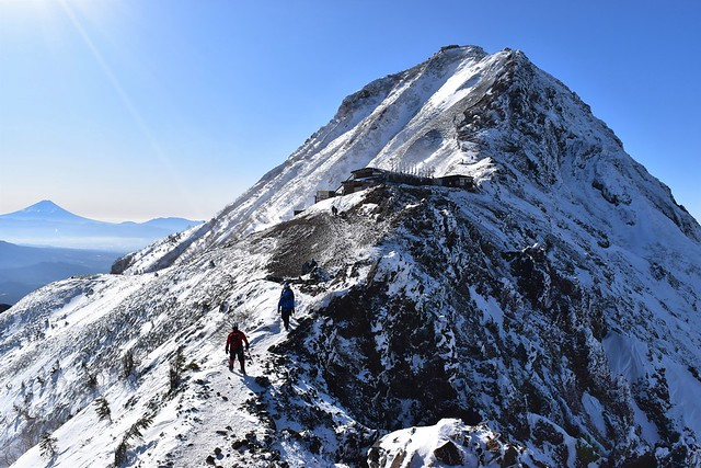 冬の八ヶ岳登山 赤岳山頂アタック
