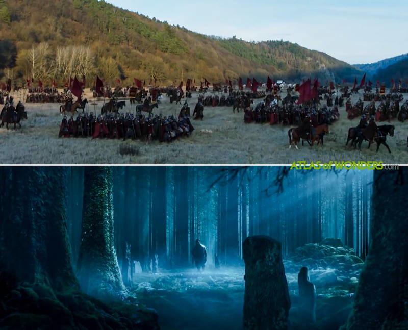 Britannia filming locations