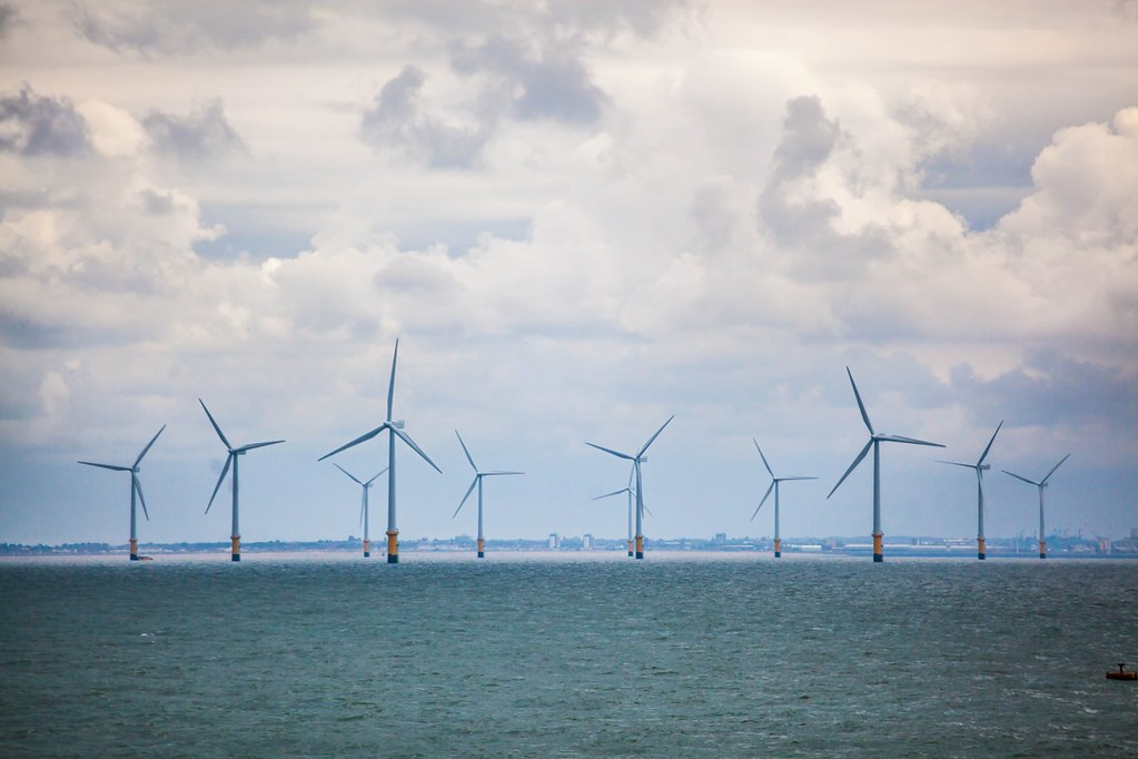 位於英國西北離岸的Burbo Bank Extension風場2017年開始商轉,可提供23萬戶英國家庭電力使用